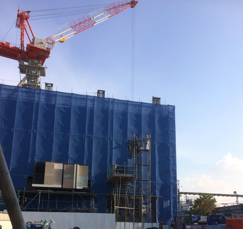 大泉北口工事ビル