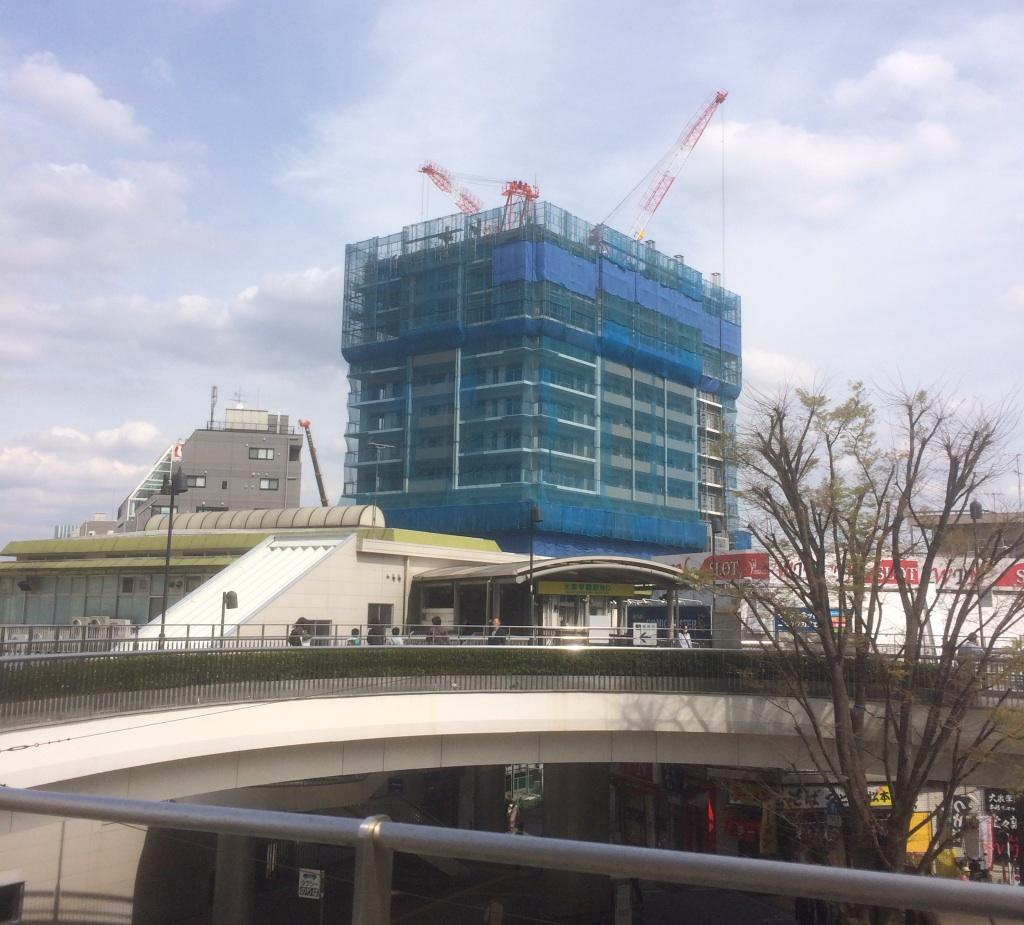 大泉学園北口開発2014.4(南口から)