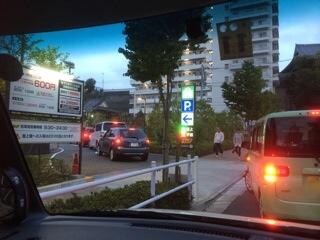 セブンタウン小豆沢 駐車場待ち