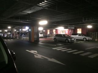 イオンモール東久留米 4F駐車場