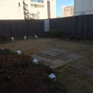 エキュート立川4F庭