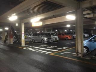 イオン板橋駐車場