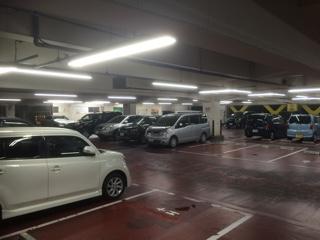 ドンキホーテ練馬店駐車場