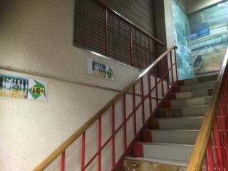 ドンキホーテ練馬店階段