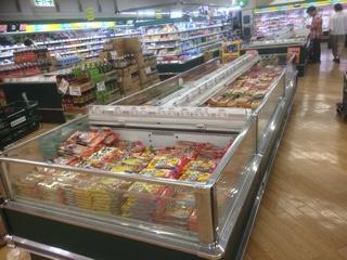 マルエツ南大泉店冷凍食品
