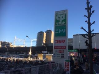 志村ショッピングセンター 駐車場
