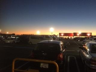 ららぽーと富士見 屋上駐車場