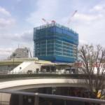 いよいよ建物が建ち始めた ~ 大泉学園駅北口開発