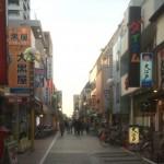武蔵境駅北側の駅前商店街~すきっぷ通り